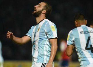 """Higuain e il suo """"odi et amo"""" con la Nazionale argentina"""