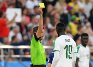 russia, cartellino per il Senegal