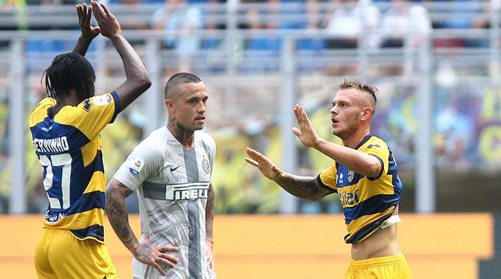 Nainggolan-Dimarco, Inter-Parma
