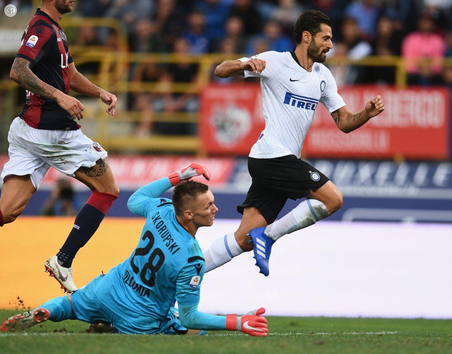 Antonio Candreva, Bologna-Inter