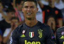 Cristiano Ronaldo espulsione