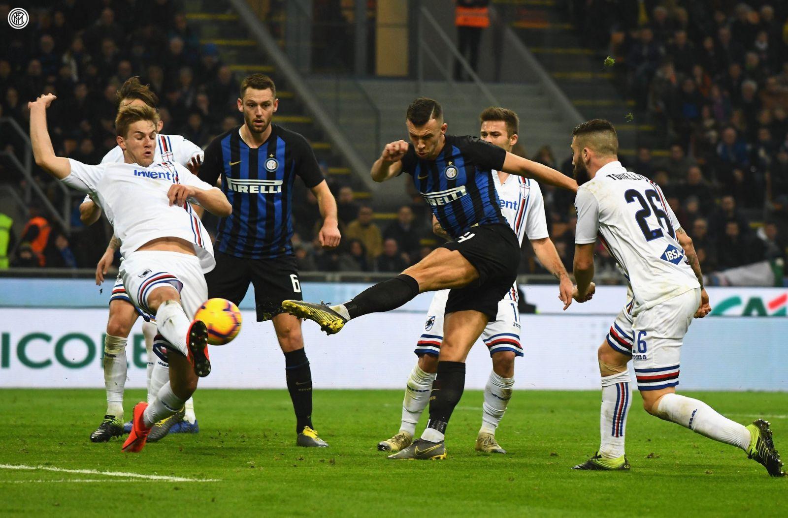 Perisic Inter vs Sampdoria