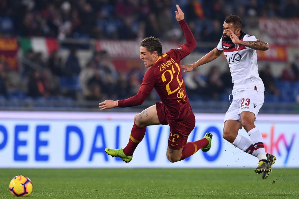 Zaniolo Danilo Roma vs Bologna, Serie A