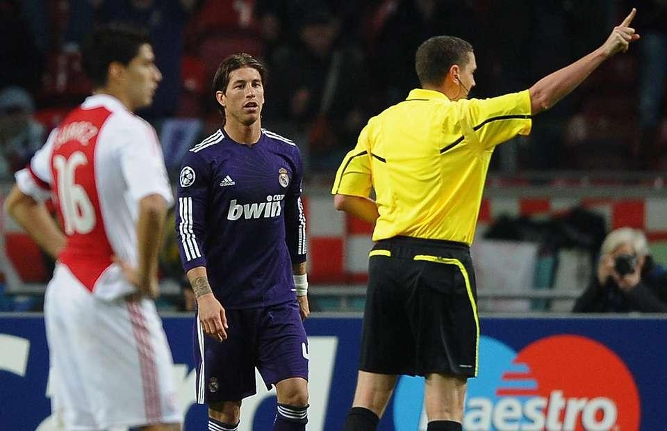 Ajax Real Madrid 2010 UCL, Ramos