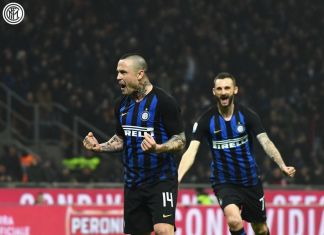 Inter vs Sampdoria Nainggolan Brozovic
