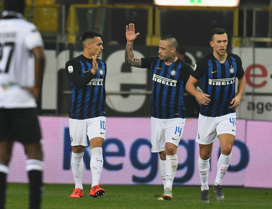 Lautaro Nainggolan Perisic.Parma vs Inter