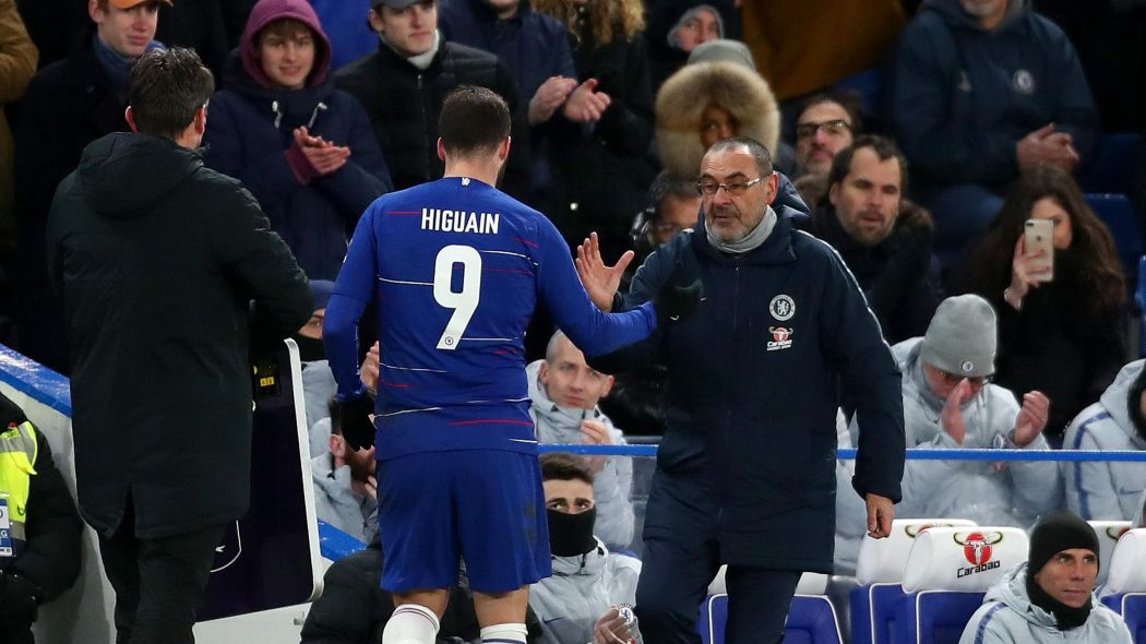 Sarri e Higuain a rischio al Chelsea