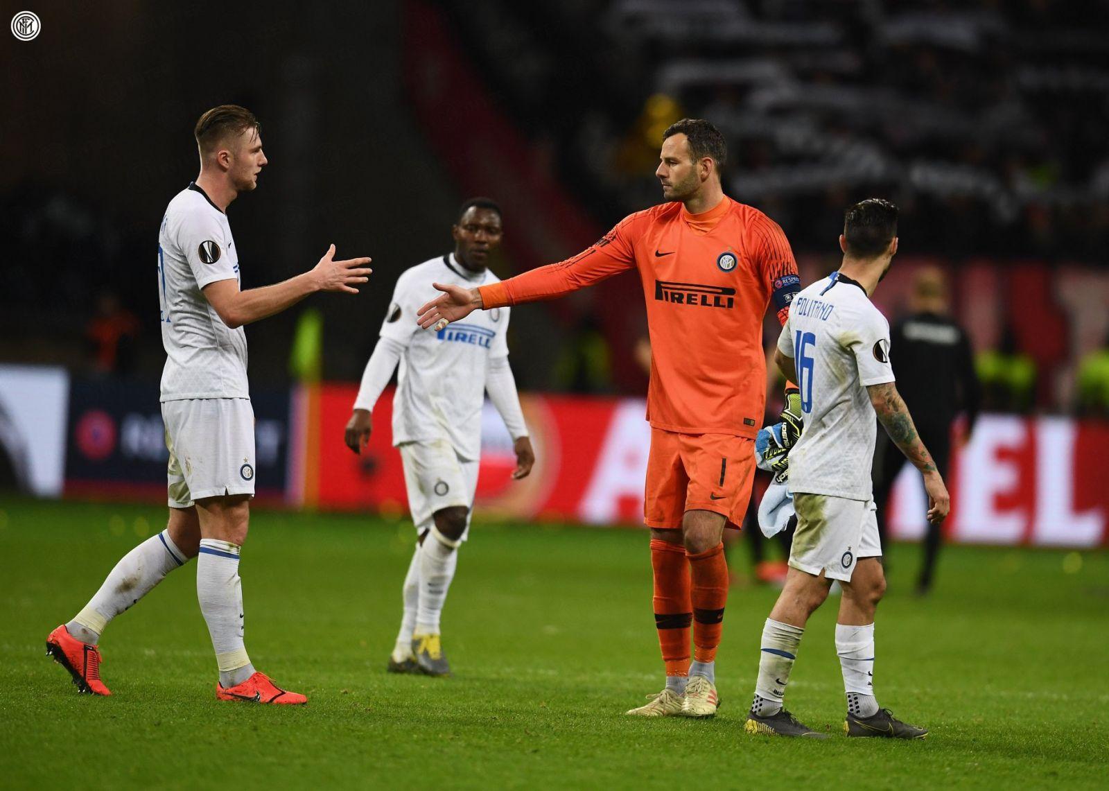 Eintracht Francoforte vs Inter