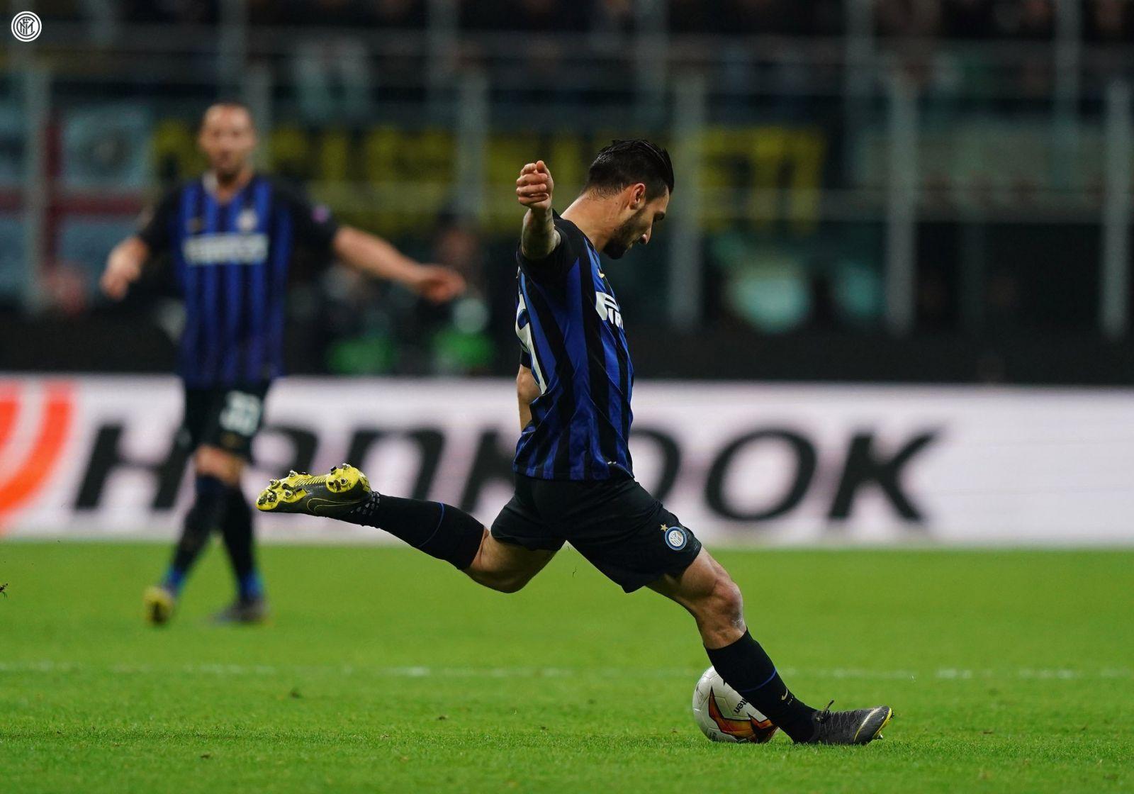 Politano Inter vs Eintracht