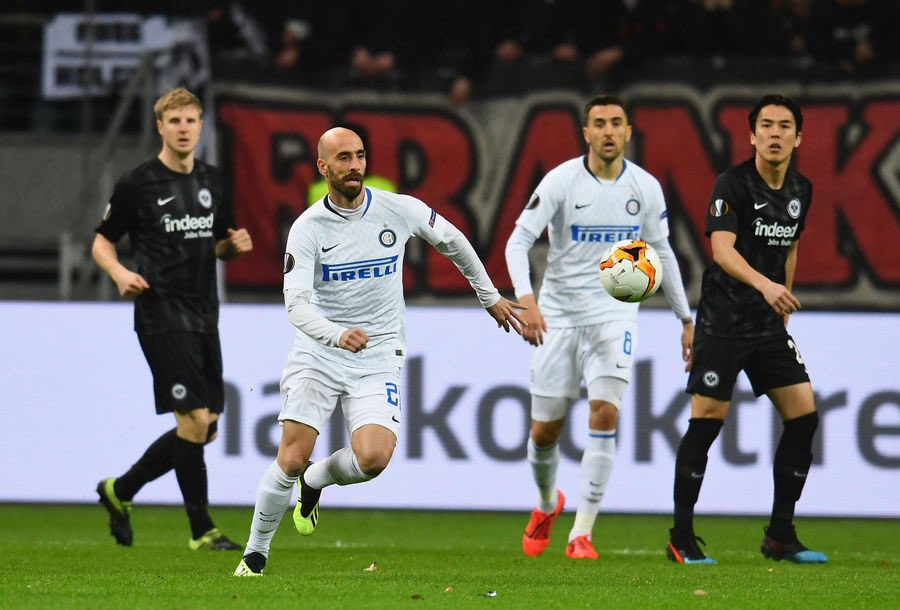Borja Valero Eintracht Francoforte vs Inter