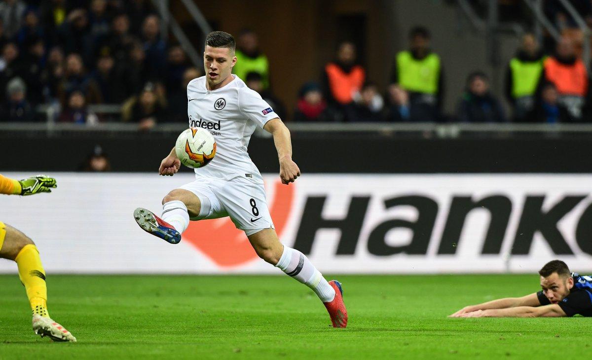 Jovic De Vrij Inter vs Eintracht