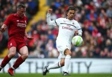Inzaghi Carragher Liverpool vs Milan Legends La Presse