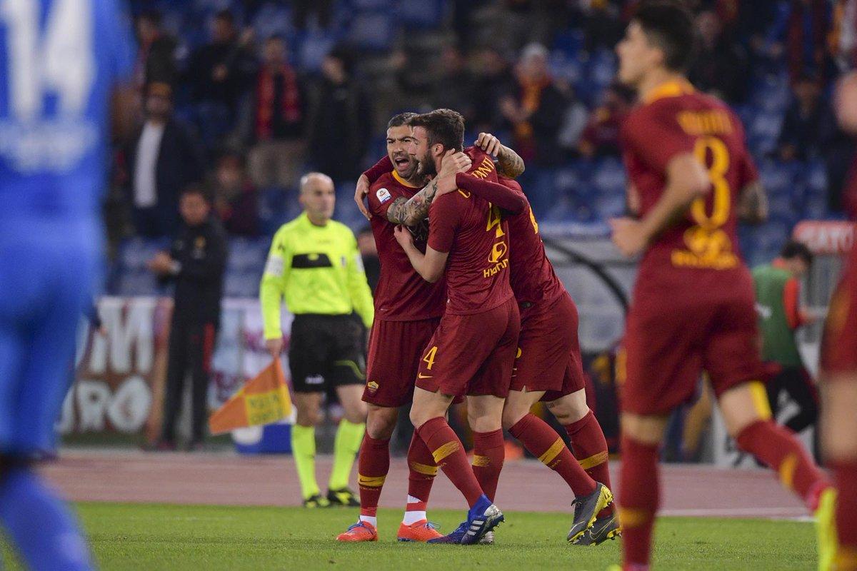 Cristante Roma vs Fiorentina