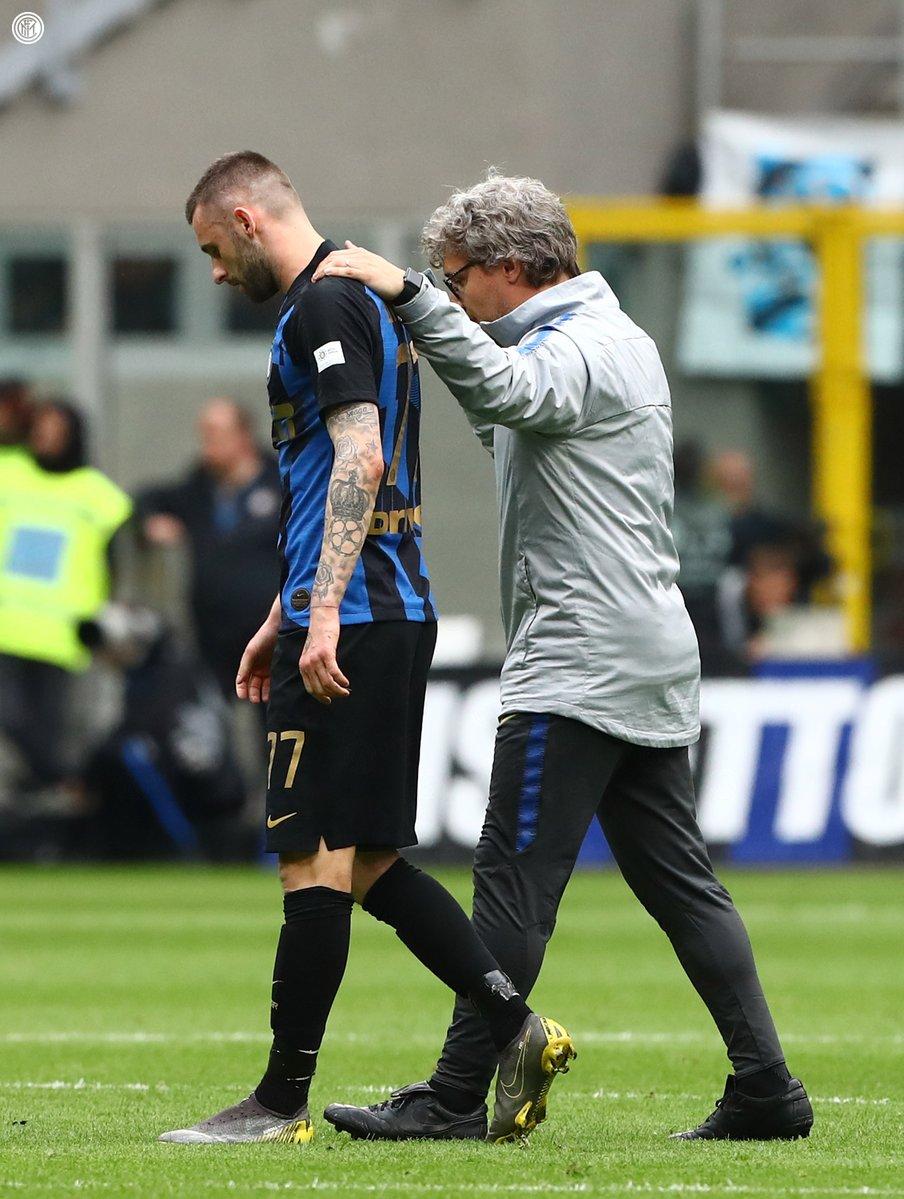 Brozovic infortunio Inter