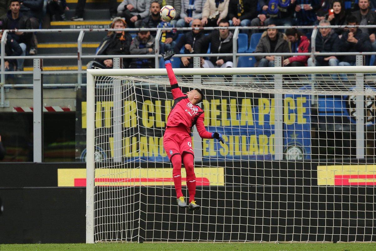 Inter vs Atalanta Gollini