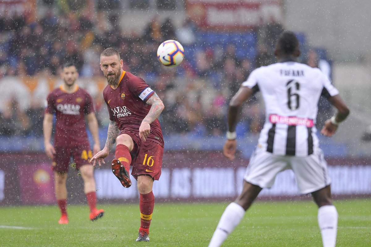 De Rossi Roma vs Udinese