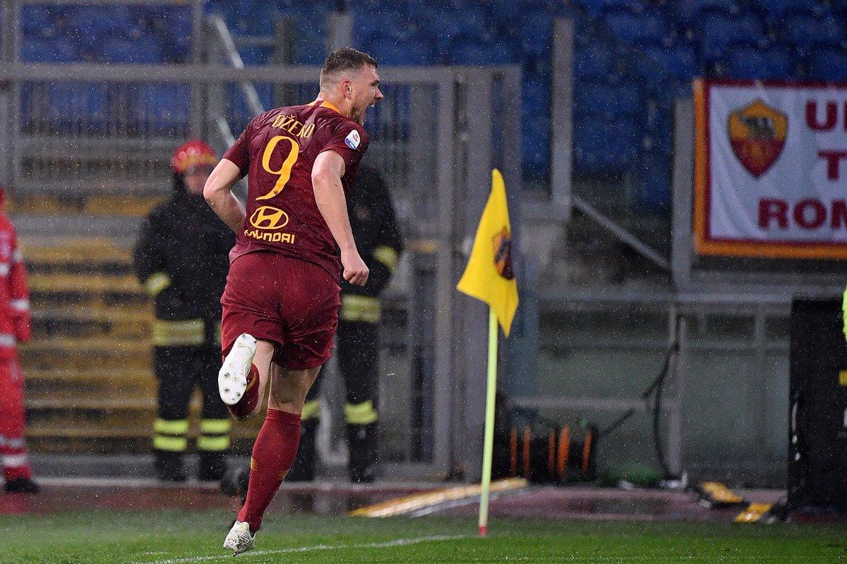 Dzeko Roma vs Udinese