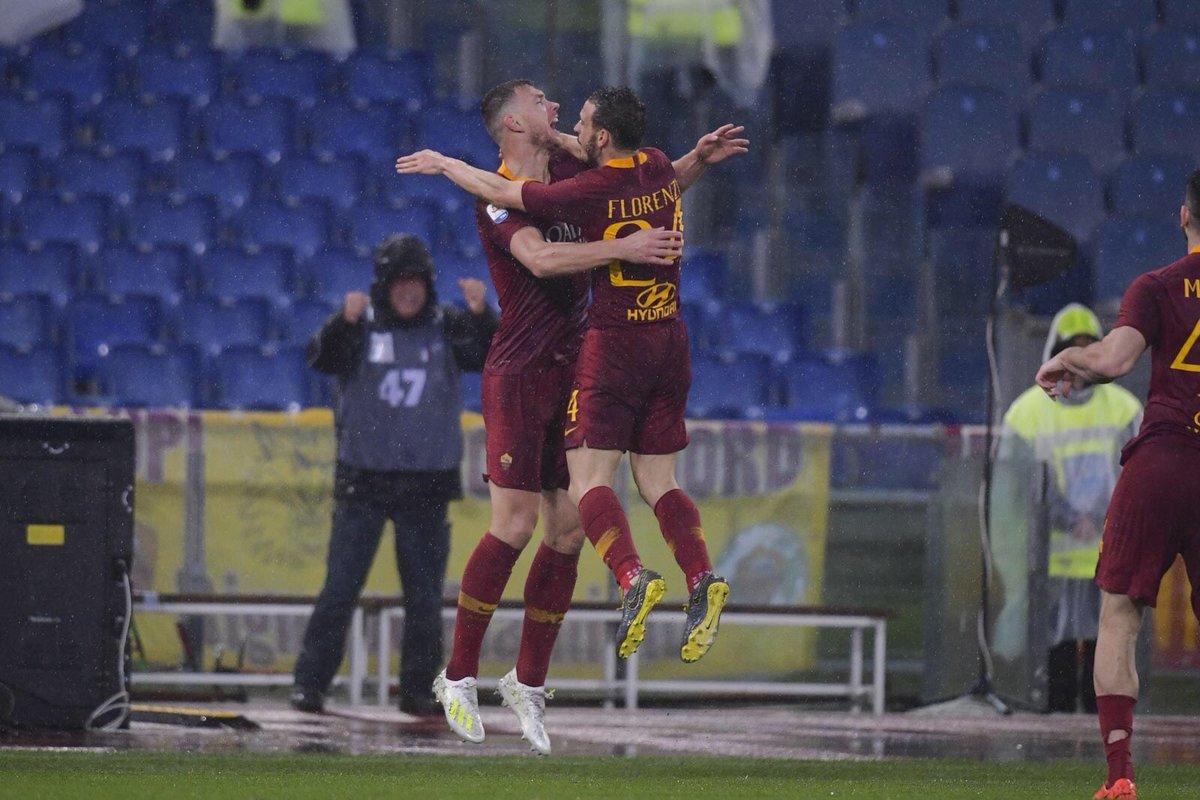 Dzeko El Saarawy Roma vs Udinese
