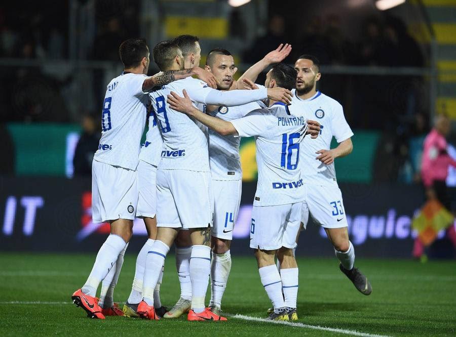 Inter a Frosinone una partita identikit del dna nerazzurro: no pain no gain!