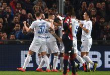 Esultanza Icardi Genoa vs Inter
