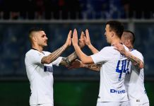 Perisic Icardi Genoa vs Inter