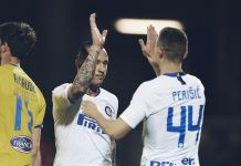 Frosinone vs Inter Nainggolan Perisic