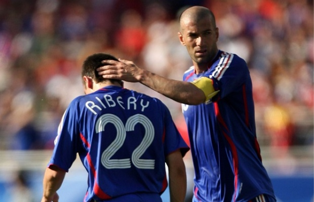 Ribery Zidane Francia