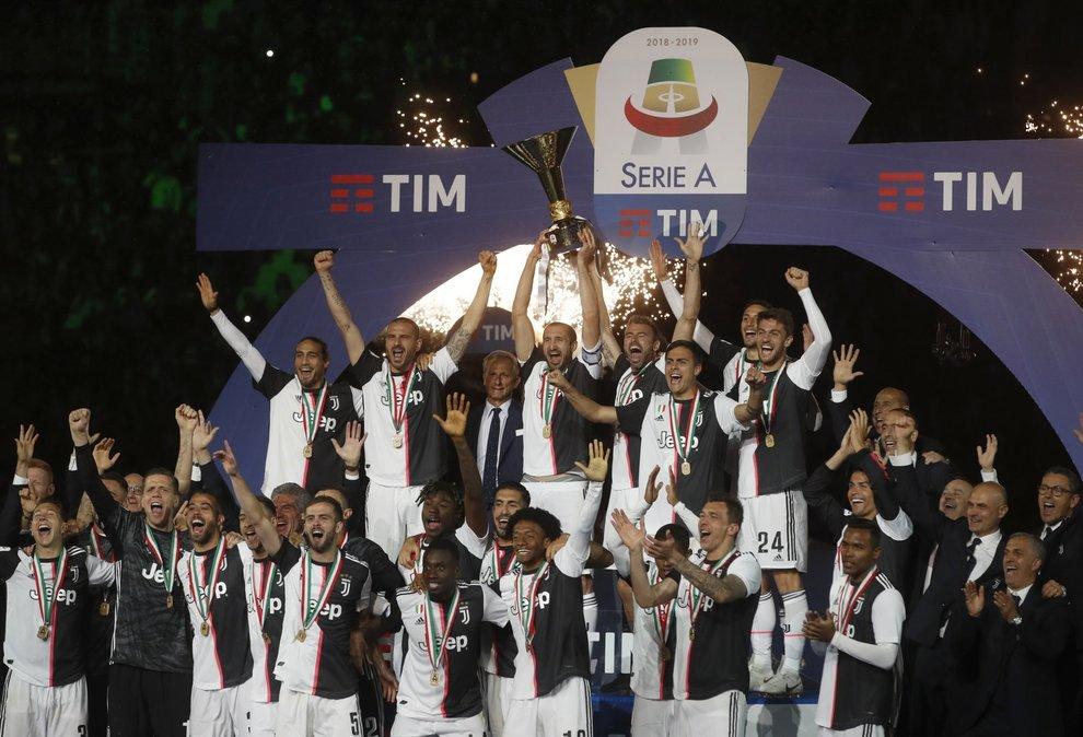 Juventus scudetto 2019