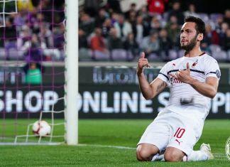 Chalanoglu ancora bestia nera per la Fiorentina e la Champions a -1 punto