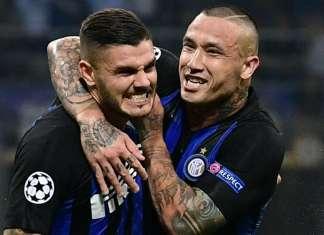 Icardi Nainggolan Inter
