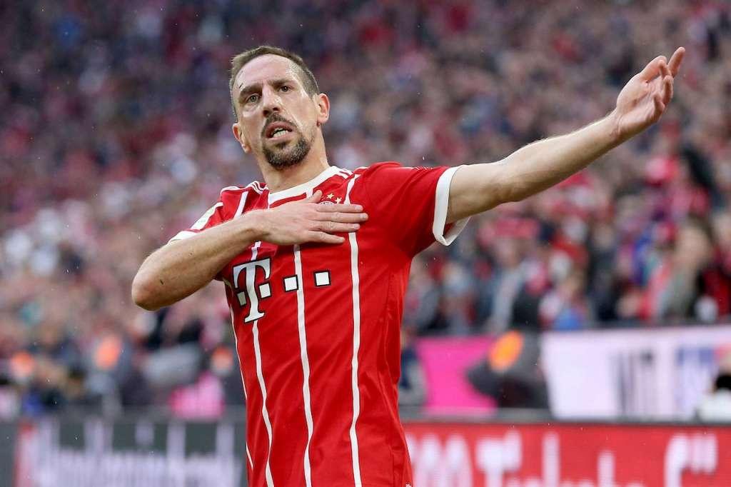 Ribery al Bayer