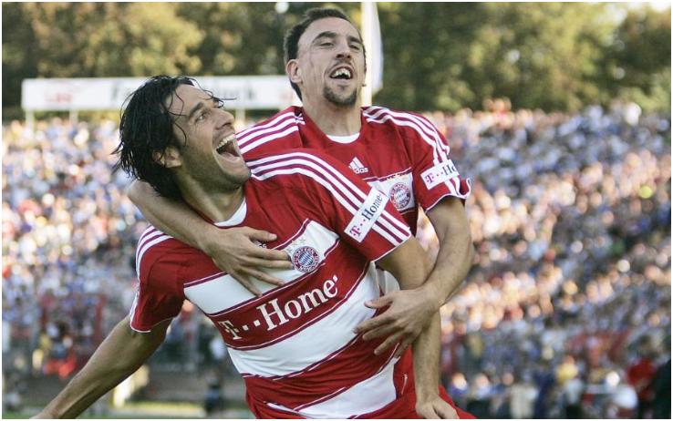 Toni e Ribery
