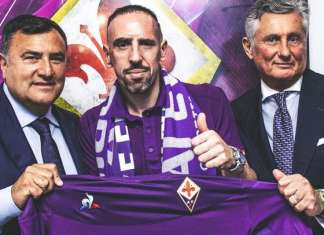 Franck Ribery alla Viola