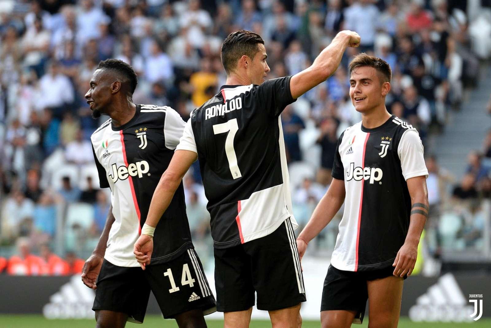 Ronaldo e Dybala esultanza