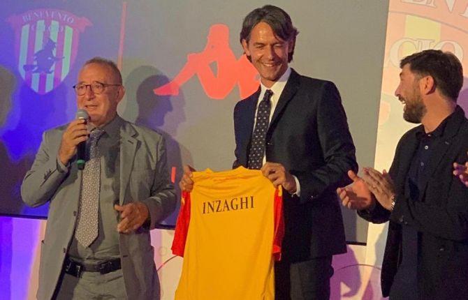 Inzaghi festa Benevento