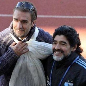 batistuta Maradona