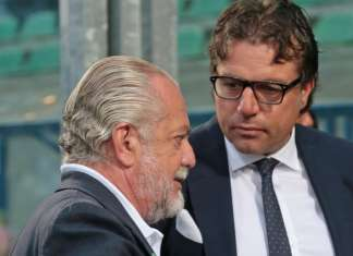 Giuntoli Ds Napoli e De Laurentiis