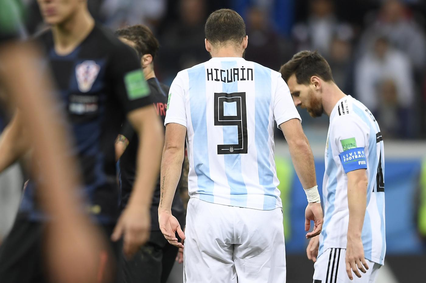 Russia 2018 – Coppa del Mondo FIFA – Argentina vs Croazia – Stadio Niznij Novgorod.