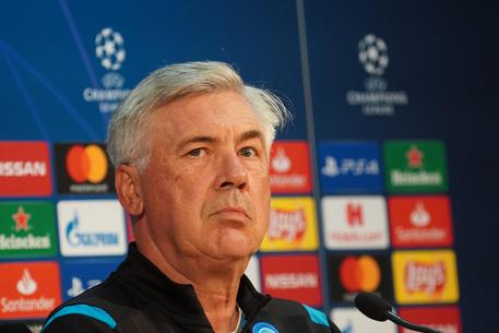 Soccer: Champions League; Napoli's press conference