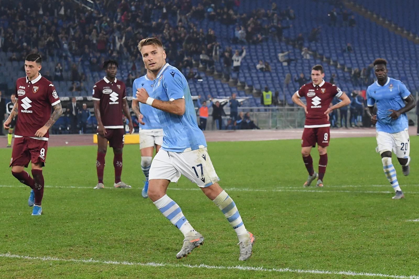Immobile Lazio Torino