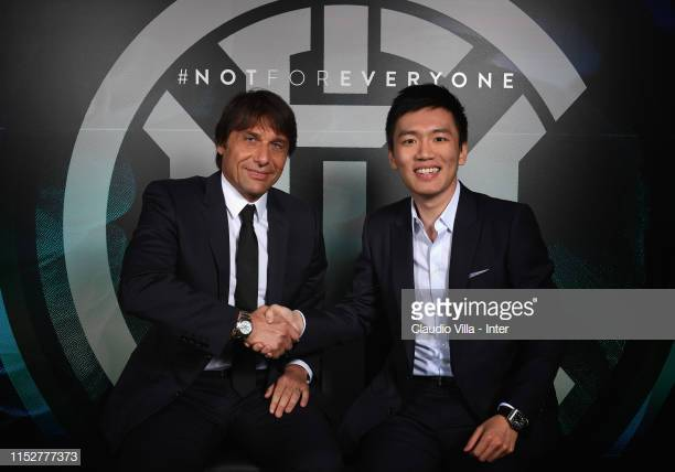Conte presentazione Inter