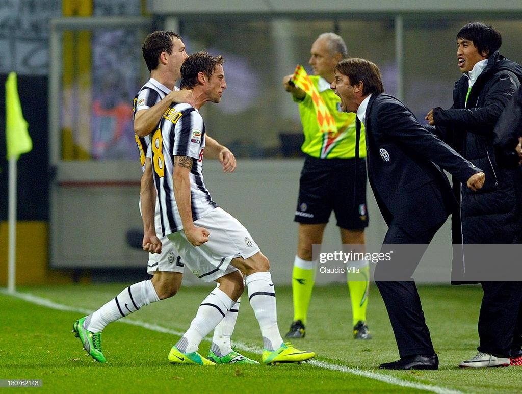 Conte e marchio Juventus