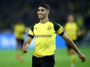 Hakimi, Borussia Dortmund-Nuernberg, Bundesliga
