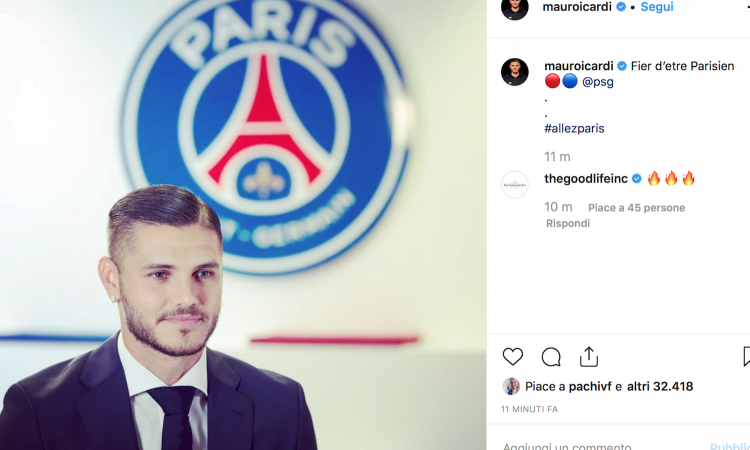 Icardi, Paris Saint-Germain