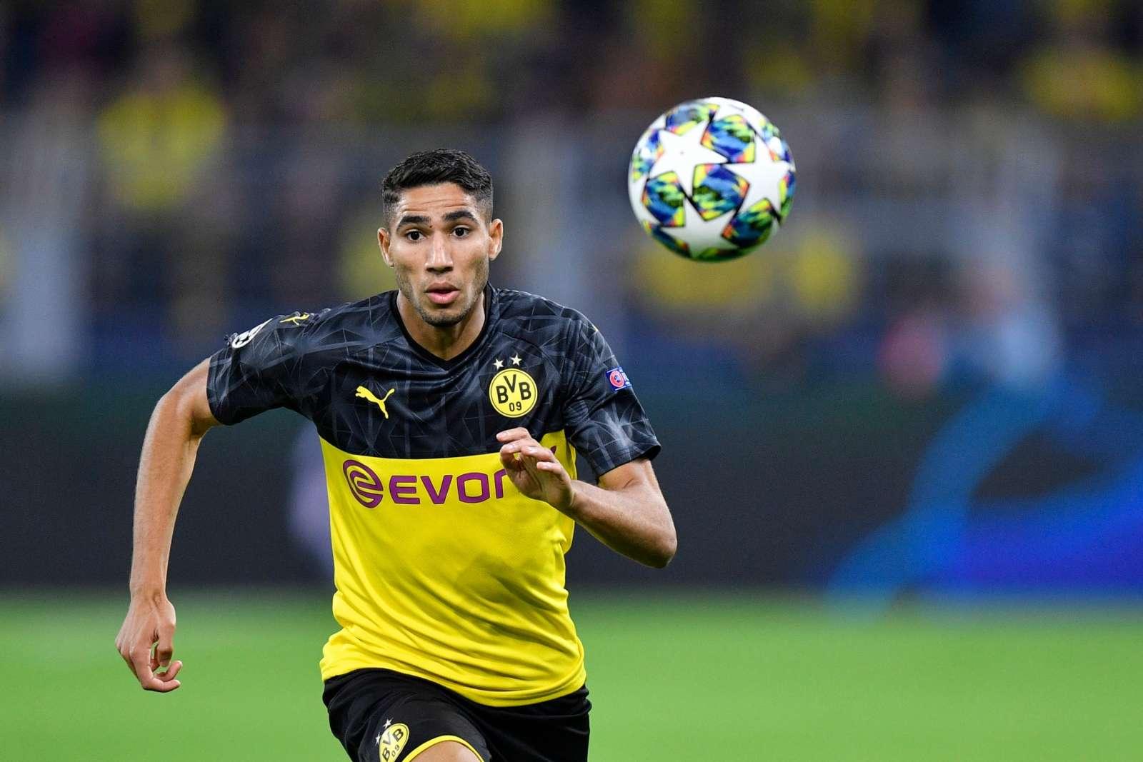 Hakimi, Borussia Dortmund