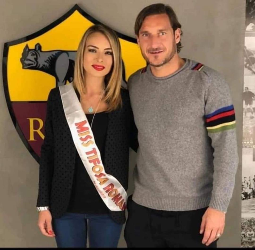 Jessica Fegatilli e Francesco Totti