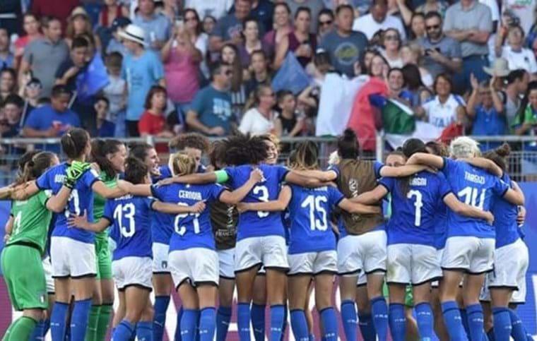 azzurre calcio femminile