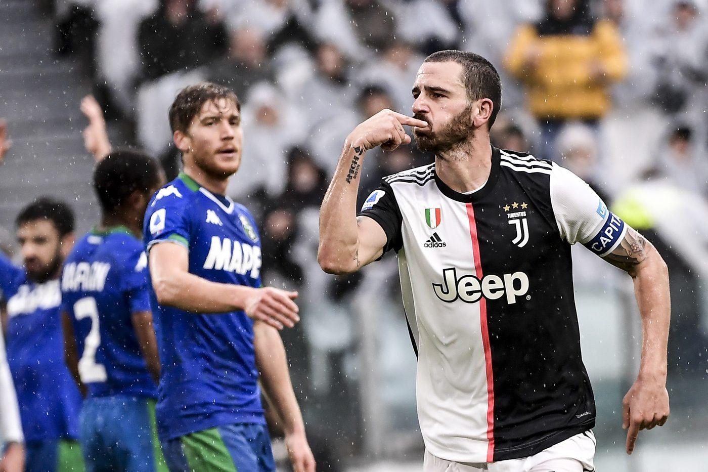 Leonardo Bonucci, Juventus-Sassuolo