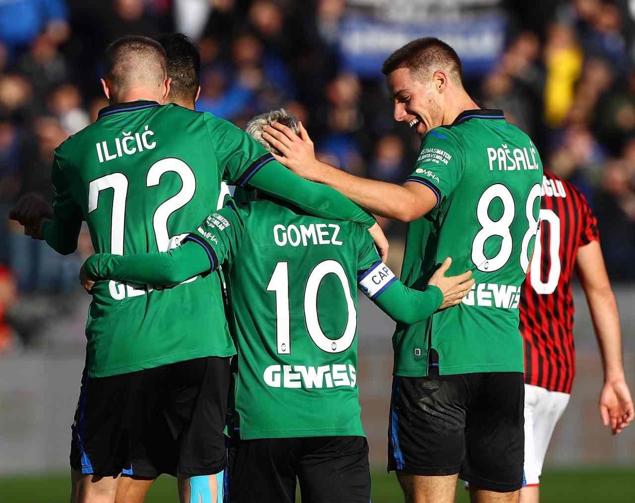 L'Atalanta devasta il Milan di Stefano Pioli