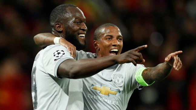 Romelu Lukaku & Ashley Young
